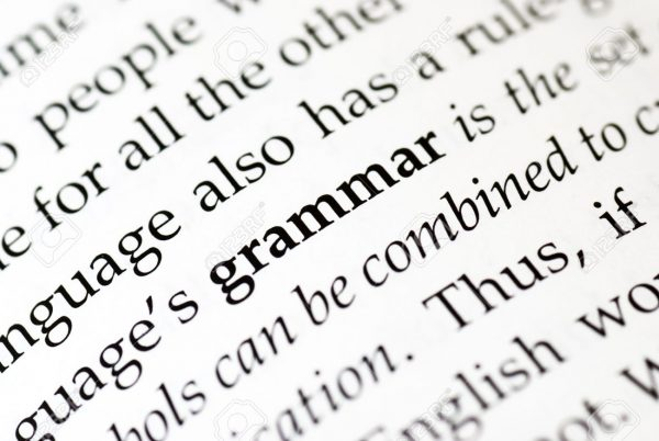8724778-The-word-grammar-in-bold-in-a-book-Stock-Photo