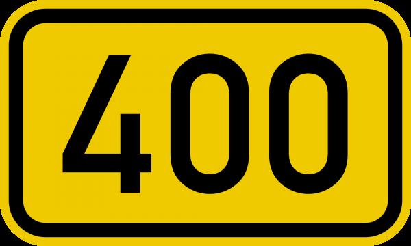 Bundesstraße_400_number_svg